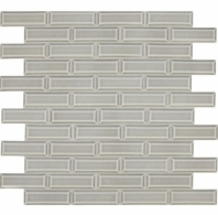 Daltile RV09 Revalia Bevel Festive Gray Beveled Subway Tile