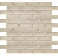 Daltile RV10 Revalia Bevel Jubilee Beige Beveled Subway Tile