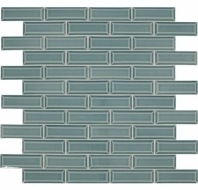 Daltile RV11 Revalia Bevel Celebration Teal Beveled Subway Tile