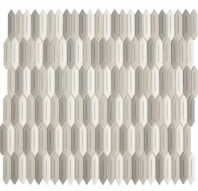 Daltile RV14 Revalia Picket Peaceful Blend Hexagon Ceramic Tile