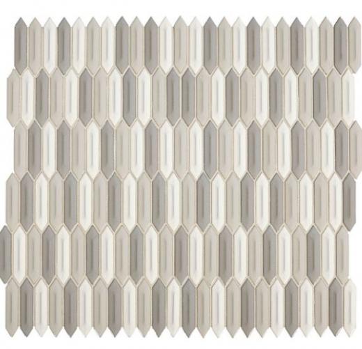 Revalia Picket Peaceful Blend Hexagon Tile Daltile Rv14