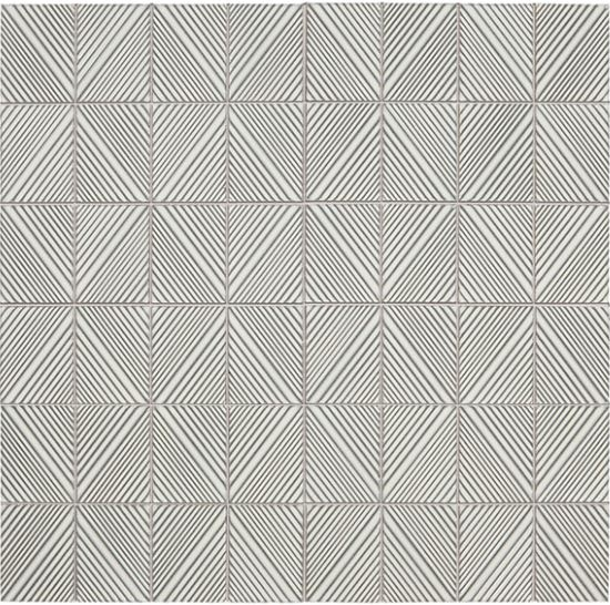 Revalia Structural White Stacked Tile Daltile Rv18