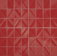 Daltile RV23 Revalia Structural Red Stacked Ceramic Tile