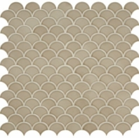 Daltile RV28 Revalia Delightful Tan Ceramic Fan Tile