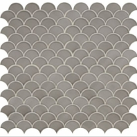 Daltile RV30 Revalia Sublime Gray Ceramic Fan Tile