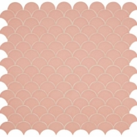 Daltile RV31 Revalia Charming Peach Ceramic Fan Tile