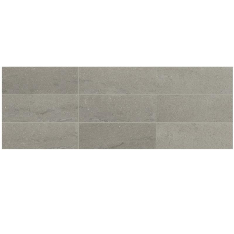 Raine Cumulus Grey 3x9 Marble Subway Tile Polished