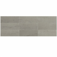 Raine Cumulus Grey 3x9 Marble Subway Tile Honed