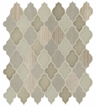 Daltile DA42 Raine Cumulus Grey Blend Arabesque Tile
