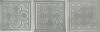 Daltile VM01 Vintage Metals Decorative Whitewash Titanium Tile