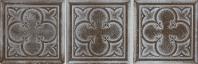 Daltile VM03 Vintage Metals Decorative Whitewash Classic Bronze Tile