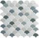 Scallop Lace Breezy Pacific SCL591 Fan Tile