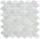 Scallop Lace Off White SCL593 Fan Tile