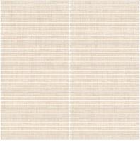 "Eleganza Tan Matchstick 3/8"" x 6"" Fabric Look Mosaic Tile 66168-Matchstick"
