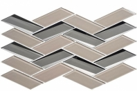 Tidal Waves Series Leeward Breakers Herringbone Tile TW711