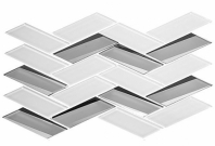Tidal Waves Series Jamaican Surf Herringbone Tile TW712
