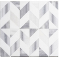Picassa Series Venus Cube Chevron Tile PCA628