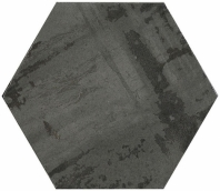 Princeton Glaze Hexagon Nero Night Hexagon Tile PRG847 Series