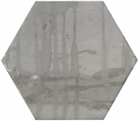 Princeton Glaze Hexagon Victorian Pewter Hexagon Tile PRG849 Series