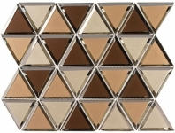 Pinwheel Series Gingertail Hexagon Tile PWL817