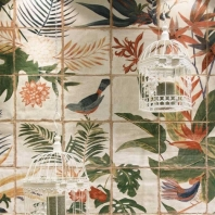 Angela Harris Dunmore Sonata Mural 8x8 Encaustic Tile TLMZAHDMSNTMRL