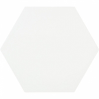 "Aries Blanco 8"" Hexagon Tile TLKRARSBLNC"