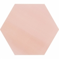 "Aries Rose 8"" Hexagon Tile TLKRARSROSE"