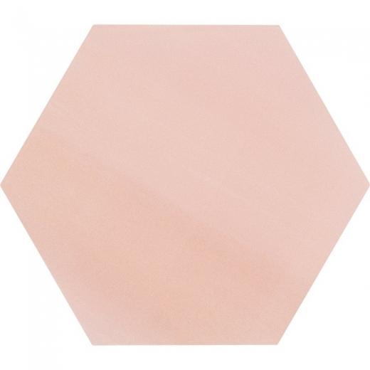 "Aries Rose 8"" Hexagon Tile TLKRARSROSE"
