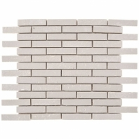 Downtown Brick Cement 1/2x3 Interlocking Tile DWTNBRKCEMT