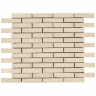 Downtown Brick Clay 1/2x3 Interlocking Tile DWTNBRKCLAY
