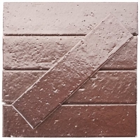 Downtown Brick Metallic Rose Gold 2.5x9 Subway Tile DWTNBRKMTRSGLD