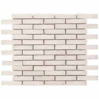 Downtown Brick Tundra 1/2x3 Interlocking Tile DWTNBRKTNDR