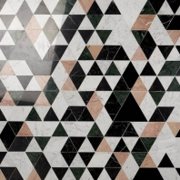 Kalmar Rosa Geometric Tile KALMARROSA
