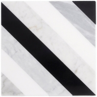 Metropolitan Allascala Chevron Geometric Tile MTROALSCLA