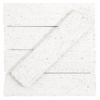Urban Brick Stroke 2x9 Matte White Subway Tile URBBRKSTRKMWHT