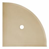 """Daltile Travertine 9"""" Large Shelf with Flat Back"""