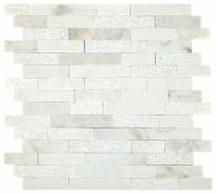 Minute Mosaic Daphne White 5/8 Random Mosaic Tile