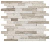Minute Mosaic Chenille White 5/8 Random Mosaic Tile