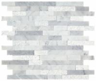 Minute Mosaic Carrara White 5/8 Random Mosaic Tile