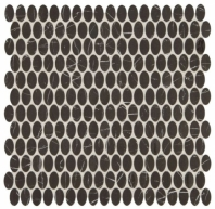 Statuette Night Shade Oval Mosaic Tile