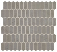 Statuette Paloma Gray Mini Picket Mosaic Tile