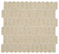 Statuette Harbor Beige Mini Picket Mosaic Tile