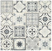 Sublimity Natural Stone Power Sequence Encaustic Mosaic Tile