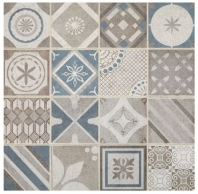 Sublimity Natural Stone Core Sequence Encaustic Mosaic Tile