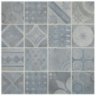 Sublimity Natural Stone Energy Sequence Encaustic Mosaic Tile