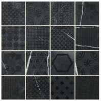 Sublimity Natural Stone Strength Sequence Encaustic Mosaic Tile