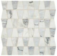Sublimity Natural Stone Cirrus Storm Trapezoid Mosaic Tile