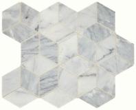 Sublimity Natural Stone Cirrus Storm Cubist Mosaic Tile
