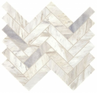 Sublimity Natural Stone Namaste Herringbone Mosaic Tile