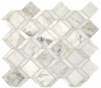 Sublimity Natural Stone Daphne White Balance Mosaic Tile